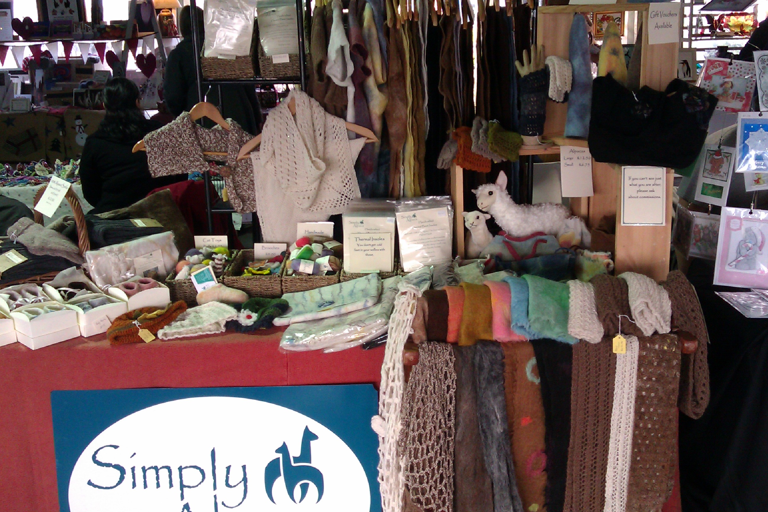 SimplyAlpaca Stall
